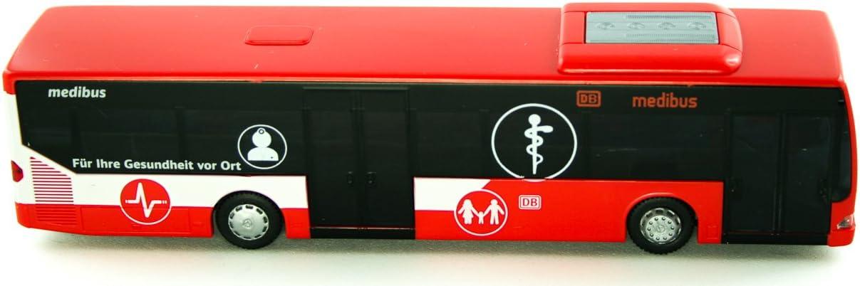 87/H0/Druckguss Modell Set Reitze Rietze /_ 66999/Mercedes-Benz Citaro DB Mobile Praxis Ma/ßstab 1