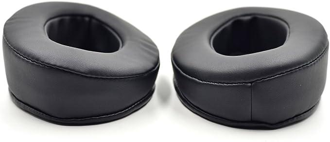 Replacement Cushion Earmuff earpads Ear Pads Cup Cover Pillow for Brainwavz HM5 HM 5 Headphones (Black)