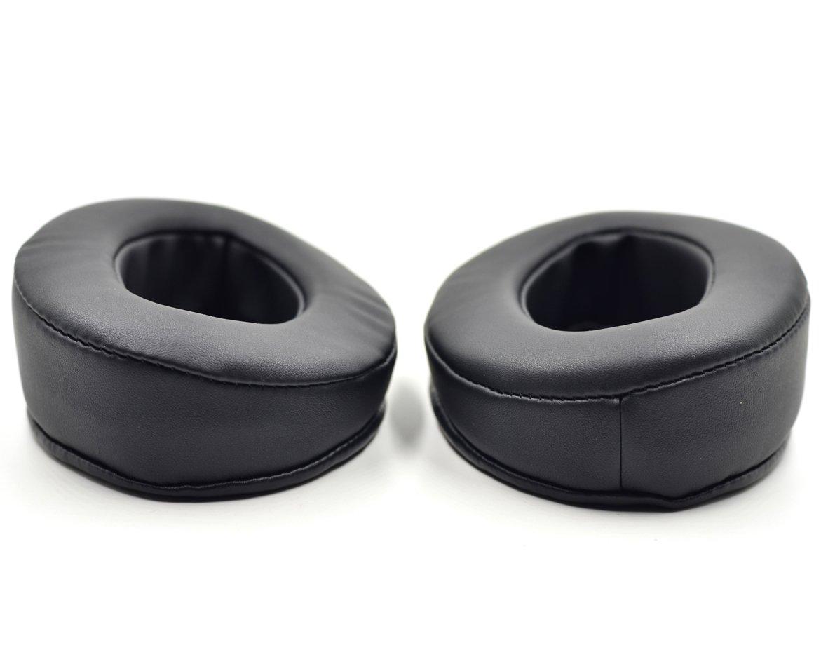 Replacement Cushion Earmuff earpads Ear Pads Cup Cover Pillow for Brainwavz HM5 HM 5 Headphones (Black) defean