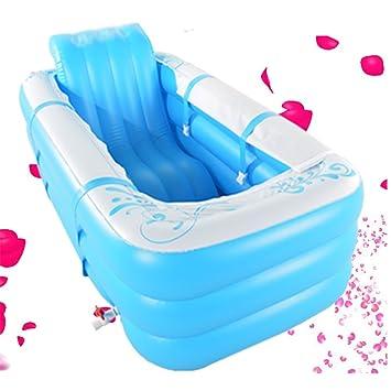 La bañera hinchable doble grande para adultos puede sentarse ...