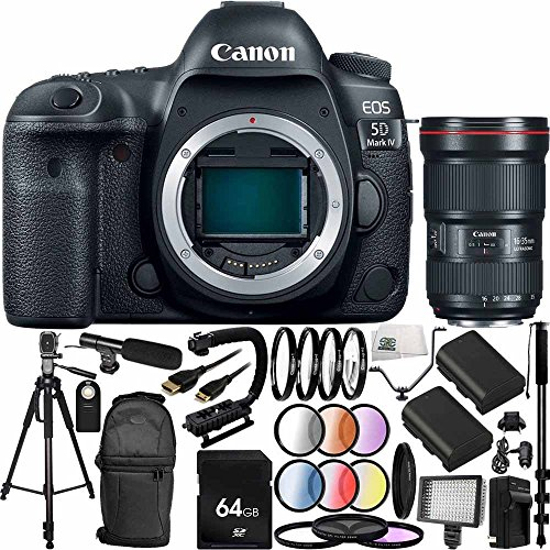 Canon EOS 5D Mark IV DSLR Camera w/EF 16-35mm f/2....