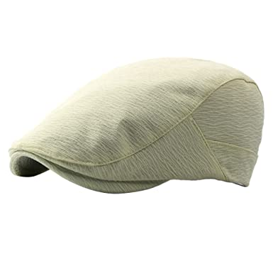 0424e93df Zhhlaixing Unisex Adjustable Spring Summer Outdoor Sun Hat IVY Cap Cabbie  Flat Cap Solid Color Berets CQ0661  Amazon.co.uk  Clothing