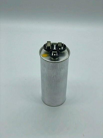 97F9833 GE Genteq Replacement Run Capacitor 30 uf + 5 uf 370VAC