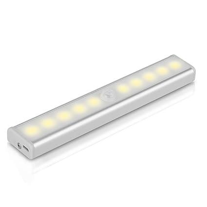 Lámpara LED de pared, YOKKAO Luz de Noche con Sensor de Movimiento y Detector de