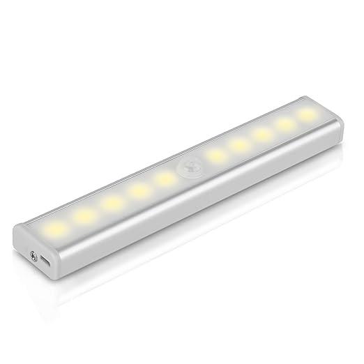 18 opinioni per Luce Notturna Con Sensore di Movimento, YOKKAO Lampada di Emergenza con 10 LED