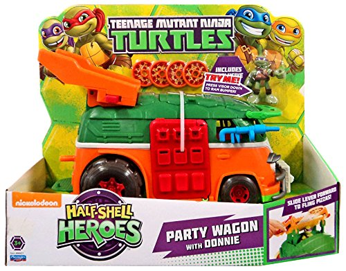 Teenage Mutant Ninja Turtles Pre-Cool Half Shell Heroes Party Wagon (Teenage Mutant Ninja Turtles Bad Guys)