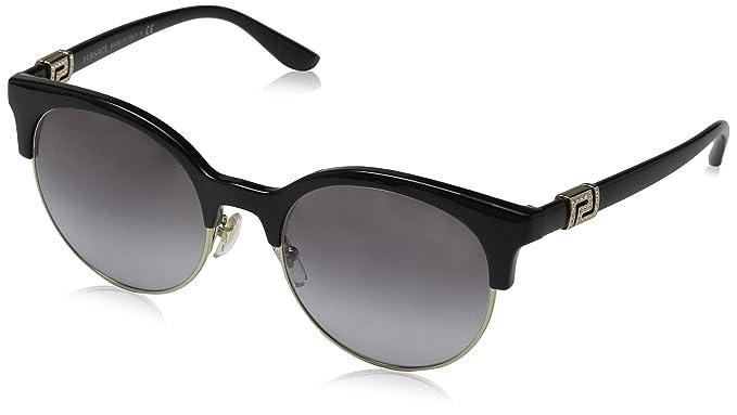 Versace 0Ve4326B Gafas de Sol, Black/Pale Gold, 53 para ...