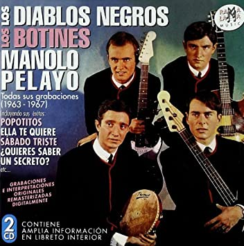 los diablos negros-los botines m.pelayo - todas sus grabaciones (1963-1964) by los diablos negros-los botines m.pelayo - Amazon.com Music