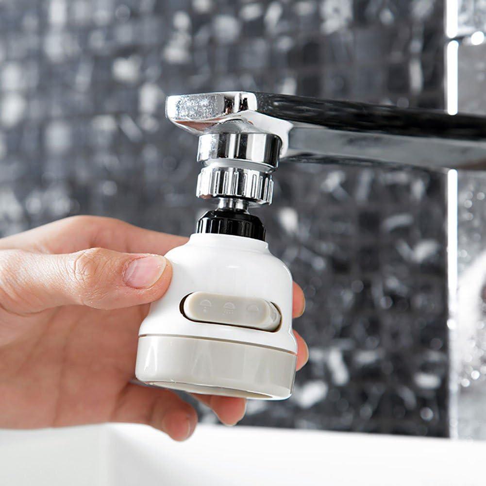 /économiseur deau Rallonge de robinet 3 modes rotatifs pour salle de bain robinets anti-/éclaboussures pour cuisine ou maison