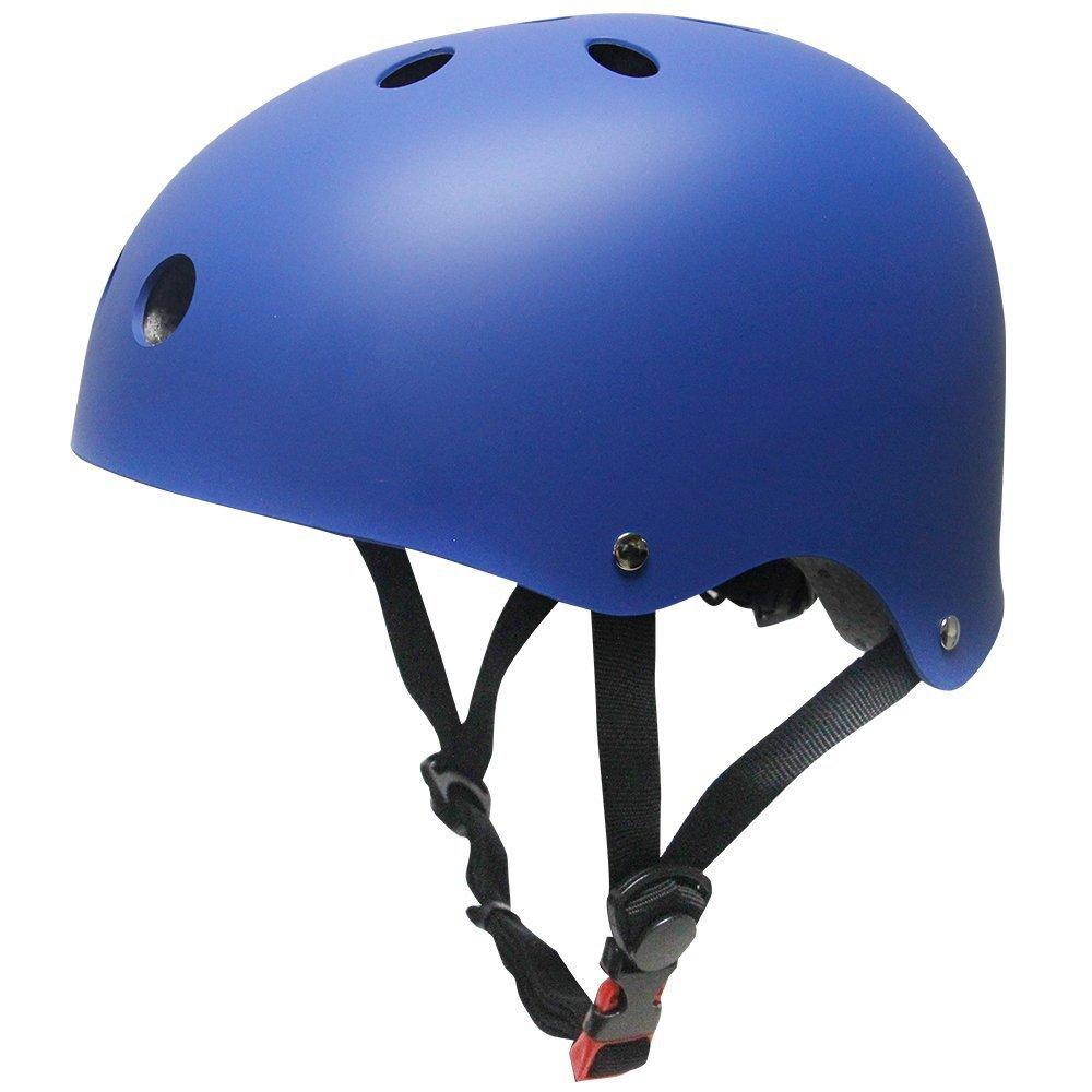 Topfire - Casco deportivo unisex, mate, color azul, tamañ o M tamaño M China SKL-003