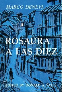 Rosaura A Las Diez Spanish Edition
