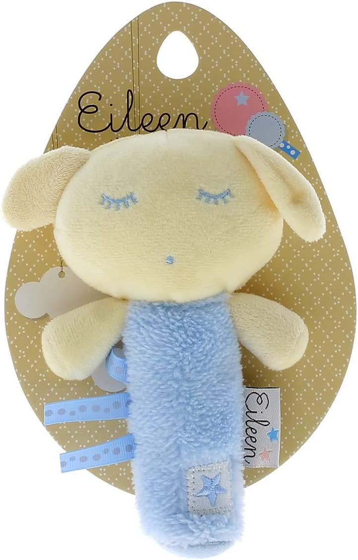 PLAY BY PLAY Sonajero peluche Eileen the Sleep Baby soft azul