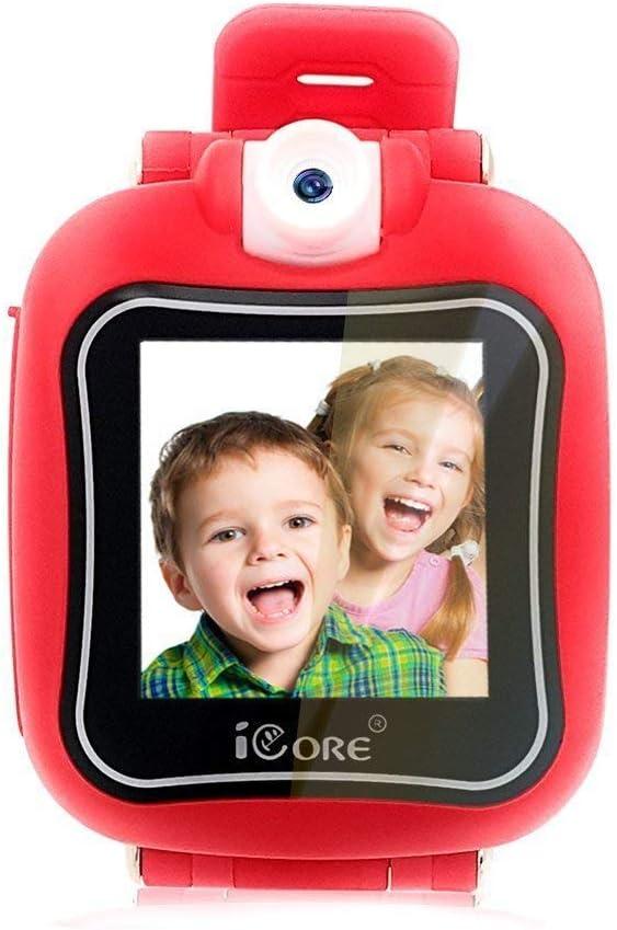Kids Smart Watches Girls, Kids Activity Watch for 4 - 12 Year Old Girls, Children Digital Wrist Watches, Touchscreen Camera Kid Smartwatch Birthday Gift.