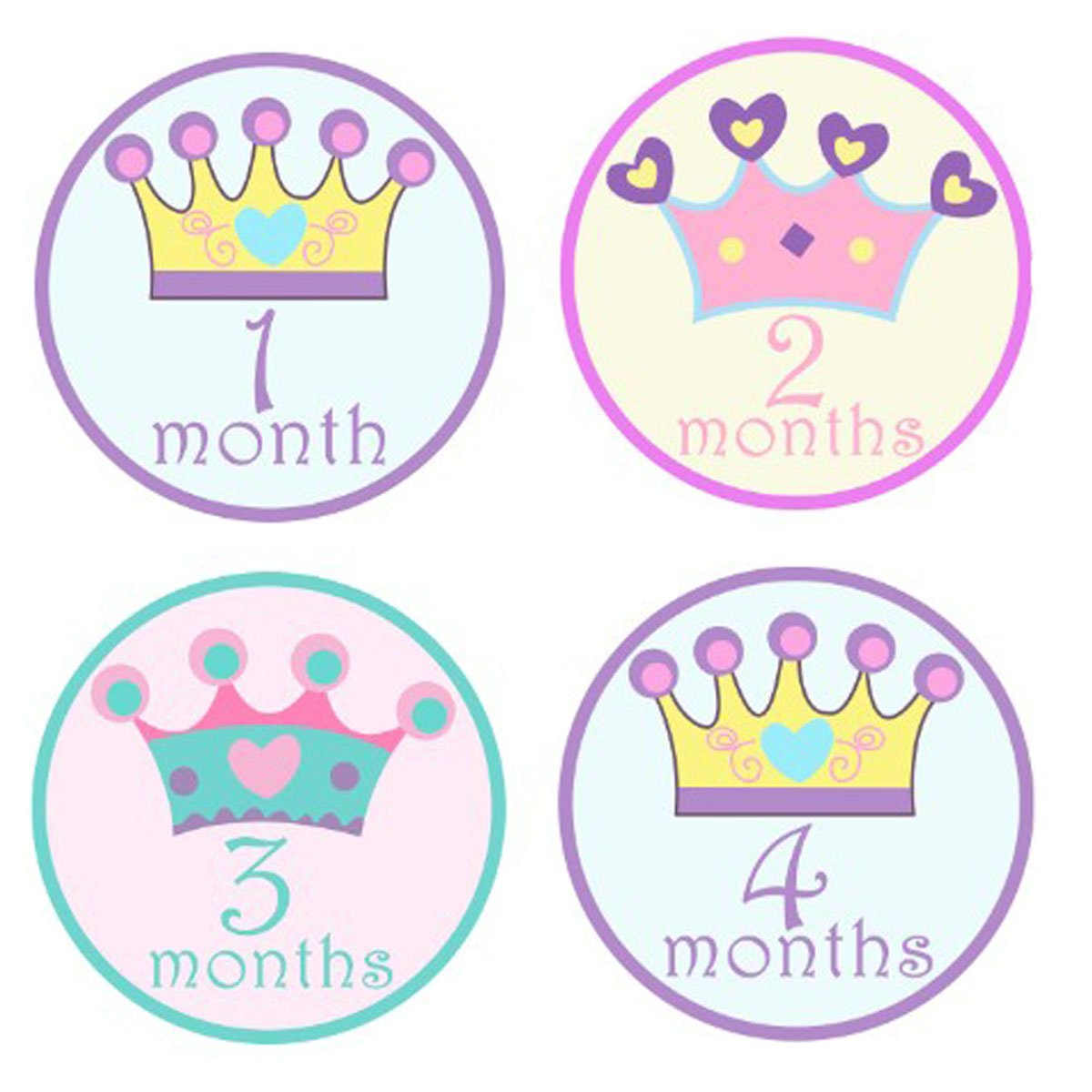 Panda Baby Monthly Sticker, Baby Belly Stickers, Baby Month Stickers, First Year Stickers Months 1-12 Hinsper