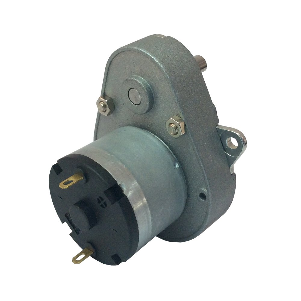 BEMONOC Micro Pear-shaped 12V DC Drive Gear Motor 6.5RPM with Gearbox for Vending Machine