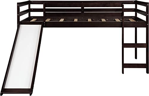 GLCHQ Multifunctional Design Kids Loft Bed