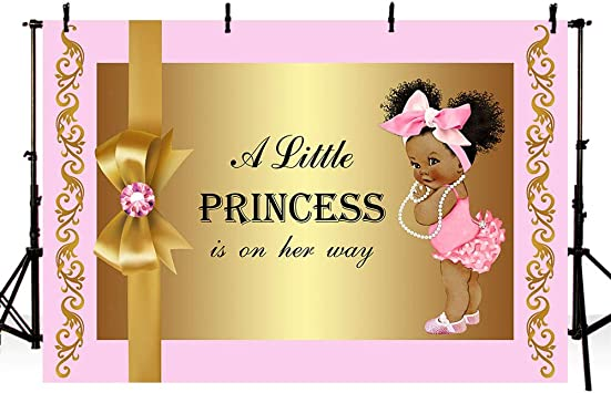 customized gla0019 gold baby shower sign welcome sign Pink Tassel Gold Glitter Baby Shower personalized poster pink