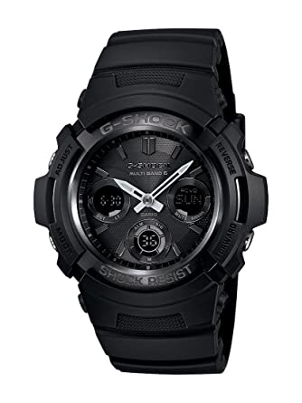 Amazon.com  Casio Men s AWGM100B-1ACR
