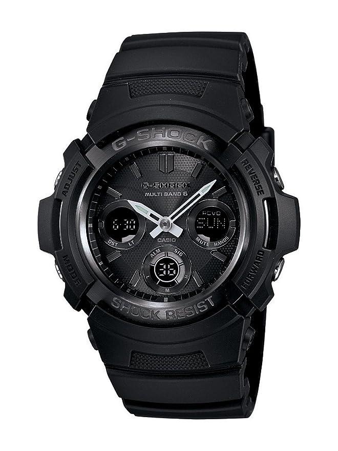 Casio AWGM100B-1ACR - Reloj de Pulsera Hombre, Resina, Color Negro: Casio: Amazon.es: Relojes