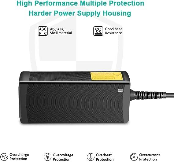 HKY 12V Cargador Adaptador Universal para 2835/5050 Tira de luz LED, RDSI, PED, CCTV, Amplificador de Audio, Bose SoundLink Mini I, Lector DVD, Monitor, Radio,Disco Duro Externo, Pantallas LCD y TFT: Amazon.es:
