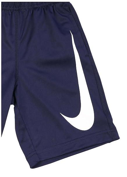 aa786b9452 Amazon.com  Nike Little Boys  Big Swoosh Performance Shorts  Sports    Outdoors
