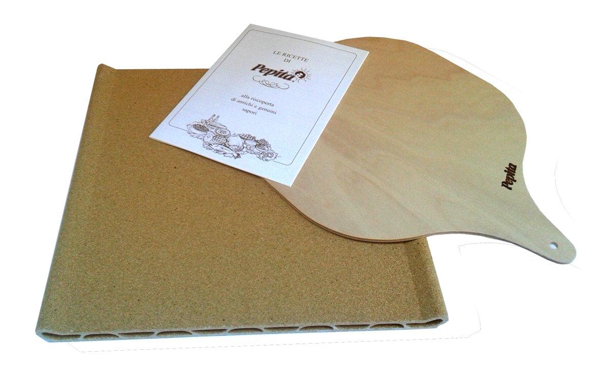 Pepita Standard Oven-proofTerracotta Plate Alberto Carzaniga PIASTRA STANDARD