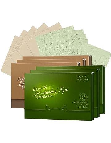 Papel absorbente absorbente de aceite facial Papel absorbente, 600 hojas, A