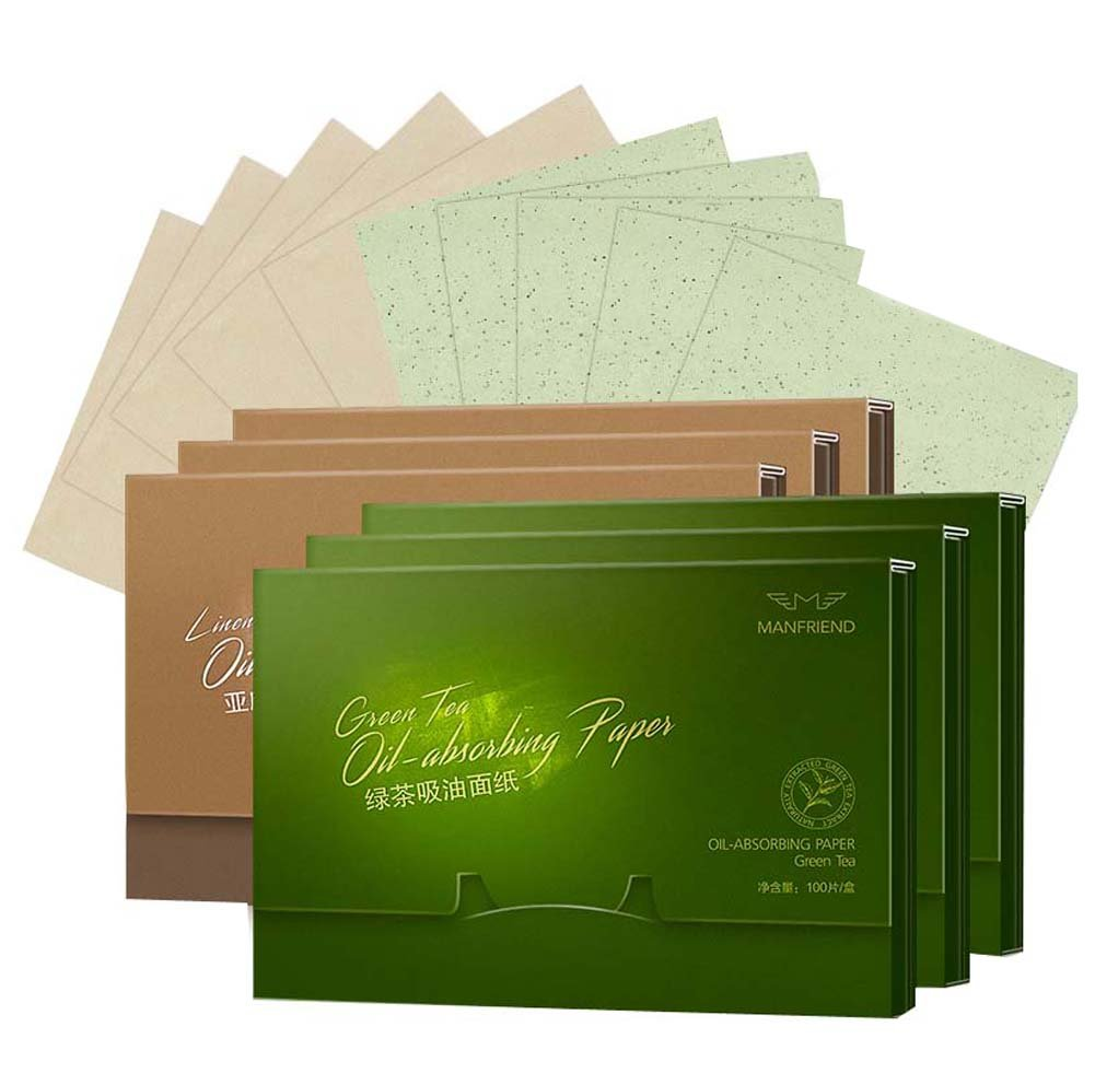 Facial Oil-absorbing Blotting Papers Absorbent Paper, 600 sheets, A