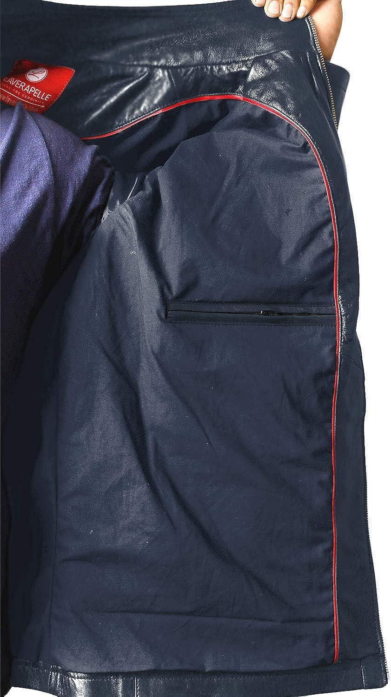 Black, Classic Jacket Laverapelle Mens Genuine Lambskin Leather Jacket 1501057