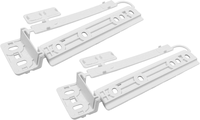 2 Pack Electrolux Porte de Réfrigérateur-congélateur intégré support de montage fixation diapositive
