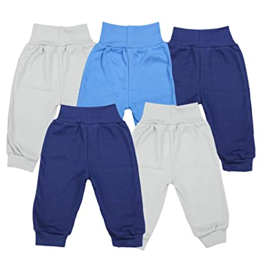 TupTam Pantalones de Chándal para Bebés Paquete de 5: Amazon.es ...