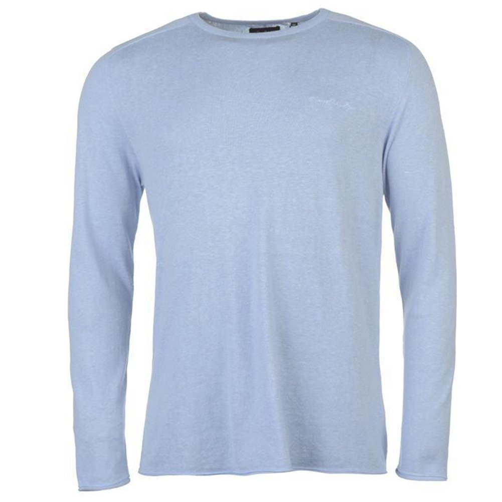 Pierre Cardin Mens Knitted Crew Neck Lightweight Soft Feel Long Sleeved Top