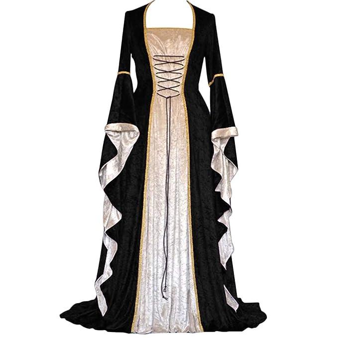 Amazon.com: Wokasun.JJ 2019 - Vestido para mujer, estilo ...