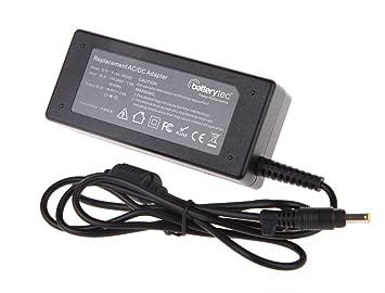 Batterytec® 65W Adaptador de corriente para portátil HP Pavilion DV1000 DV1300 DV1400 DV1300 DV1500 DV2000 ...