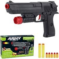 Yuanzu Toy Gun, Rubber Bullet Pistol Childen's Toys Gun - Black