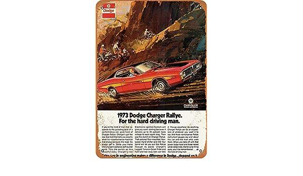 KELLEN WHITEHEAD 1973 Dodge Challenger Rallye Cartel Divertido De ...