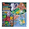 Pokemon Origami Paper Set Best Wishes! Pocket Monsters?with Stickers