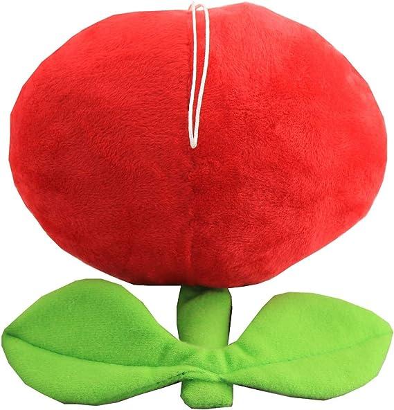 Super Mario Bros Ice Flower Plant Soft Plush Toys 8 in