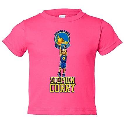 Camiseta niño Stephen Curry Golden State Warriors basquetbol - Rosa, 18-24 meses