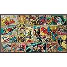 RoomMates JL1290M Ultra-Strippable Marvel Classics Comic Panel Mural, 6-Feet x 10.5-Feet
