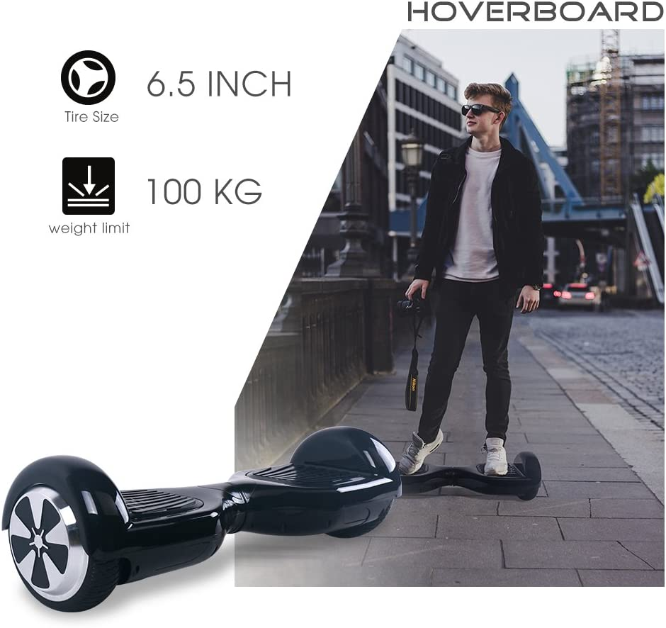 BEBK Hoverboard Bluetooth, 6.5