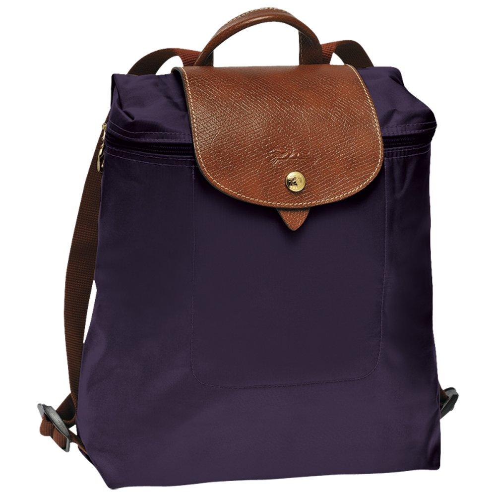 Longchamps Le Pliage Backpack Bilberry
