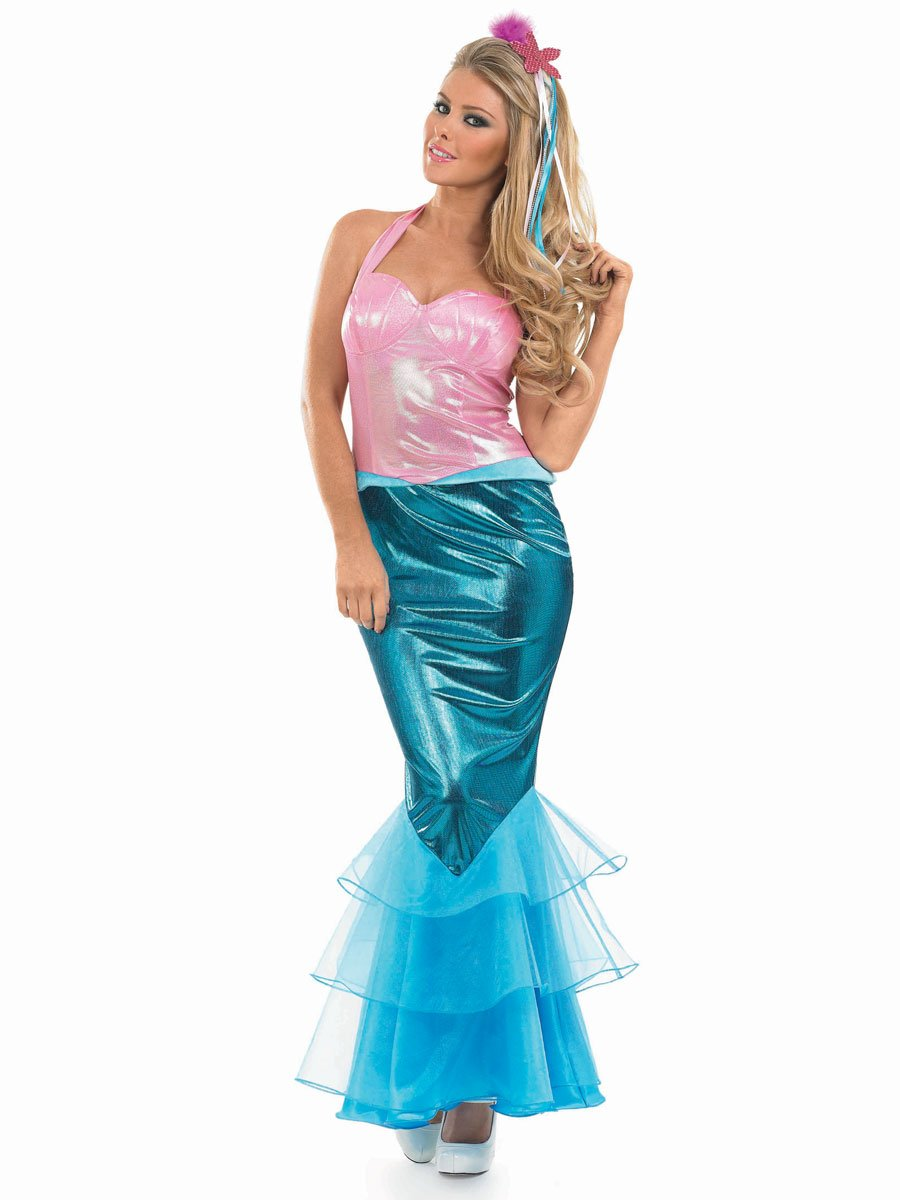 Under the sea fancy dress adults color