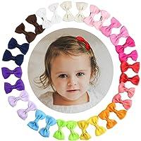 HBF 30 Piezas Clip Para Pelo Bebe Niña 15 Colores Orquillas Para Niñas Accesorio Para La Cabeza