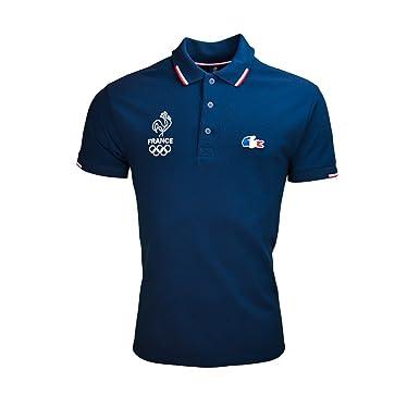 ab8a58c06f Lacoste Polo JO 2016 Bleu Marine pour Homme: Amazon.fr: Vêtements et ...