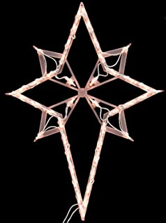 impact 22 lighted star of bethlehem christmas window silhouette decoration