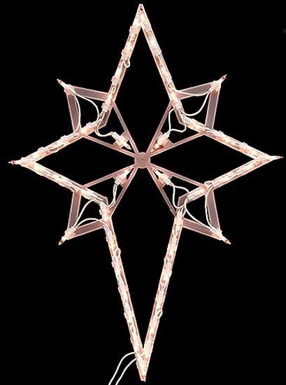 Impact 22u0026quot; Lighted Star of Bethlehem Christmas Window Silhouette Decoration & Amazon.com : Impact 22