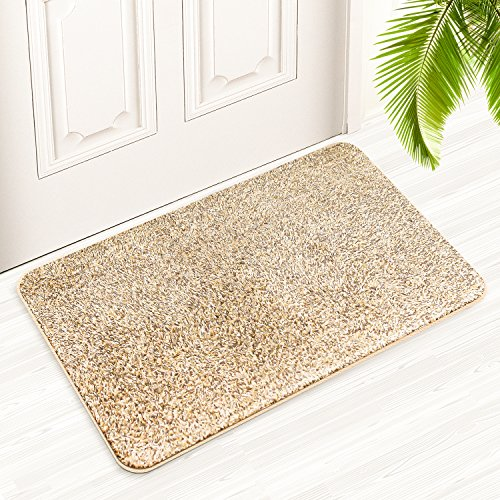 Large Indoor Doormat 18″ x 29,5″, Derhom Super Absorbs Mud Non ...
