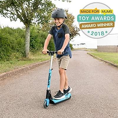 Xootz Patinete Plegable eléctrico Kids Elements con Rueda de luz LED y Manillar Plegable