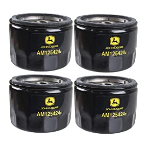John Deere Original Equipment Oil Filter #AM125424 (Qty 4)
